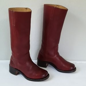Frye red campus boot  *Firm price*